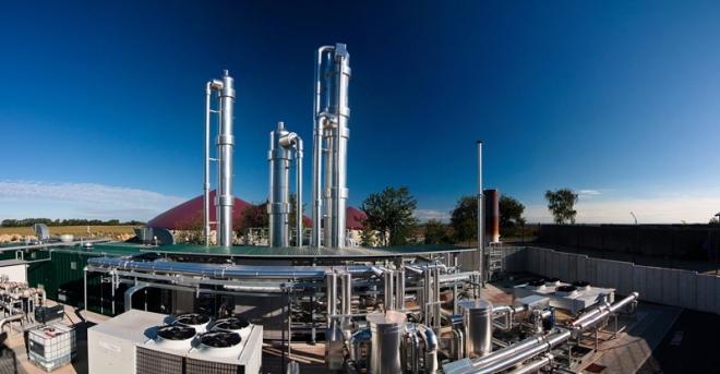 Biogasaufbereitungsanlage Euskirchen Palmersheim