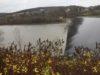 Ingenieurbüro Berg - Wieder eingestaute Talsperre nach der Sanierung der Oberflächendichtung Kronenburger See