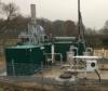 Reinigung, Kühlung und Schwachgasfackelanlage auf der Deponie